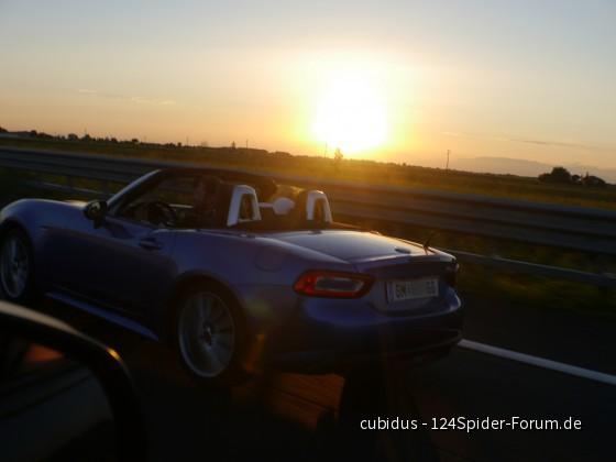 sunset italia autostrada I