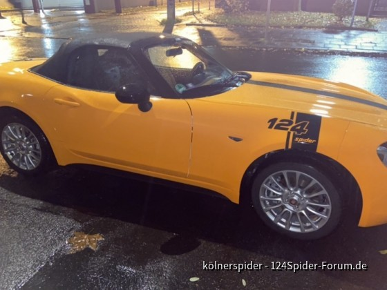 "Mein ""50th Anniversary 124spider"""