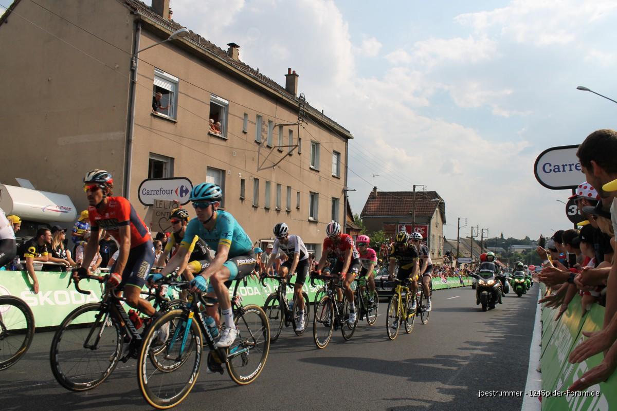 """Spider auf """"Tour de France"""""""